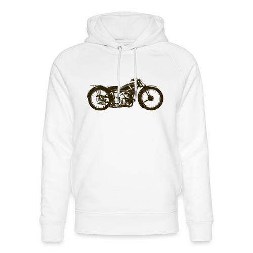Classic Cafe Racer - Unisex Organic Hoodie by Stanley & Stella