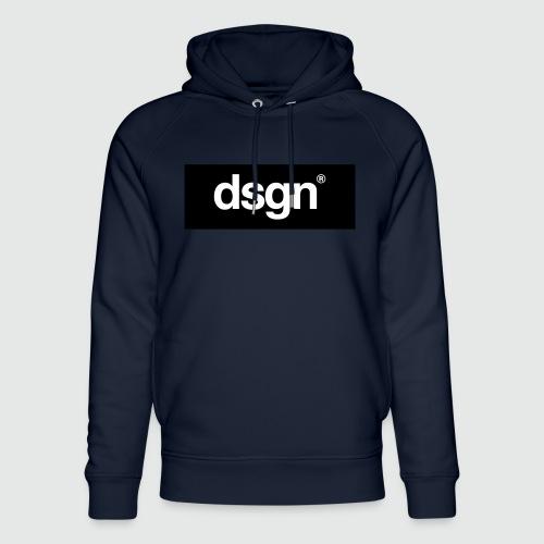 DSGN_02_WHITE - Uniseks bio-hoodie van Stanley & Stella