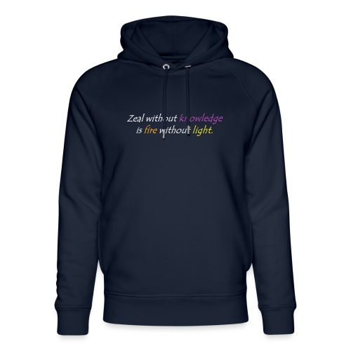 Say with colors - Unisex Organic Hoodie by Stanley & Stella
