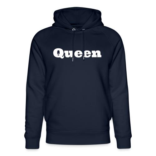 Snapback queen zwart/blauw - Uniseks bio-hoodie van Stanley & Stella