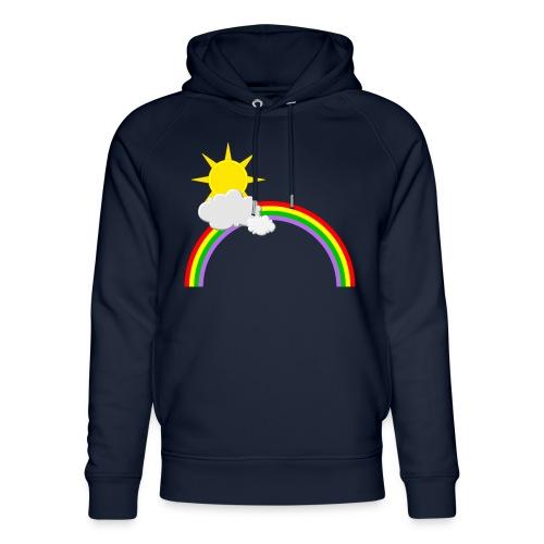 Regenbogen, Sonne, Wolken - Unisex Bio-Hoodie von Stanley & Stella