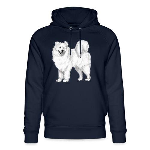 samoyed - Stanley & Stella unisex hoodie af økologisk bomuld
