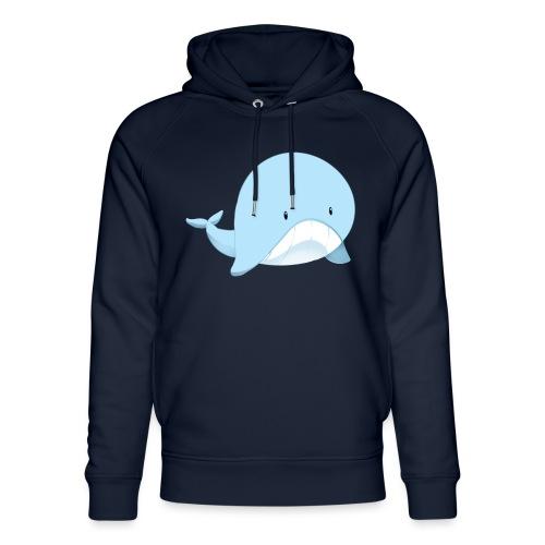 Whale - Felpa con cappuccio ecologica unisex di Stanley & Stella