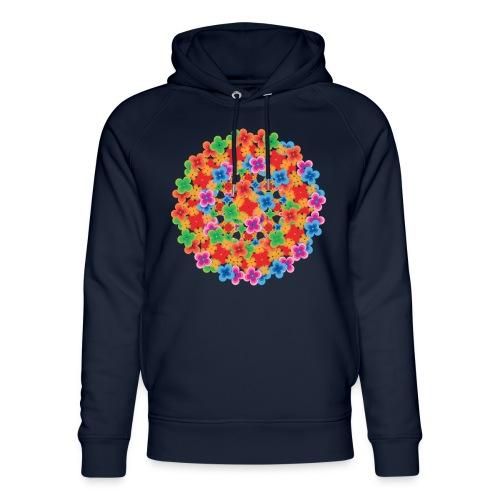 Flower mix - Stanley & Stella unisex hoodie af økologisk bomuld