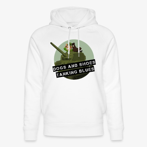 logo dogs nieuw - Uniseks bio-hoodie van Stanley & Stella