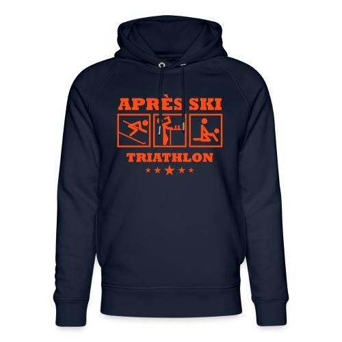 Apres Ski Triathlon | Apreski-Shirts gestalten - Unisex Bio-Hoodie von Stanley & Stella