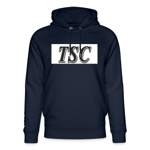 TSC Black Text - Unisex Organic Hoodie by Stanley & Stella