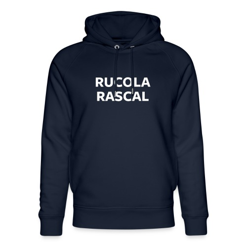 Rucola Rascal Night Mode - Unisex Organic Hoodie by Stanley & Stella