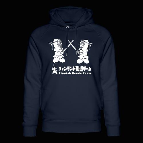 fka team logo white - Stanley & Stellan unisex-luomuhuppari