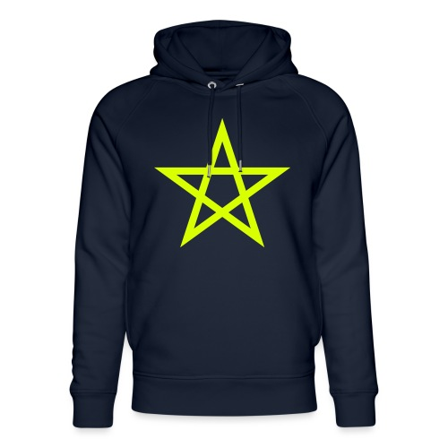 Pentagramme Wicca - Sweat à capuche bio Stanley & Stella unisexe