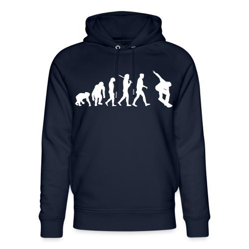 evolution_of_snowboarding - Uniseks bio-hoodie van Stanley & Stella