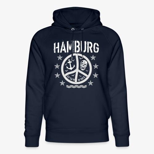 105 Hamburg Peace Anker Seil Koordinaten - Unisex Bio-Hoodie von Stanley & Stella