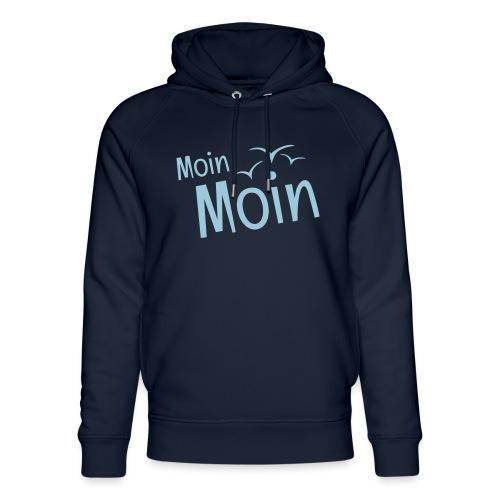 Moin Moin mit Möwen - Unisex Bio-Hoodie von Stanley & Stella