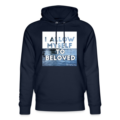I Allow Myself To Beloved - Stanley & Stellan unisex-luomuhuppari