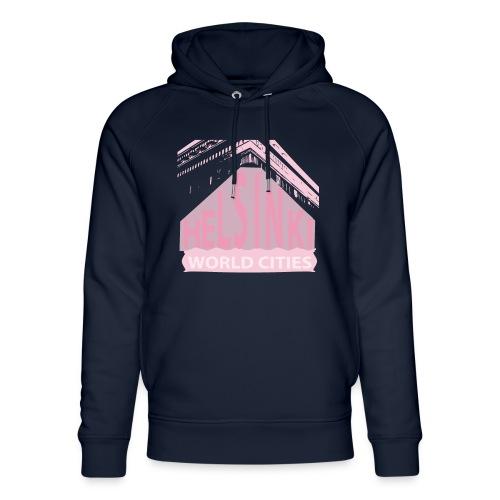 Helsinki light pink - Unisex Organic Hoodie by Stanley & Stella