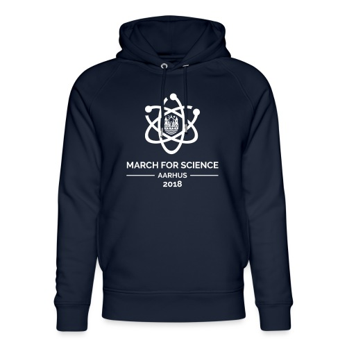 March for Science Aarhus 2018 - Unisex Organic Hoodie by Stanley & Stella