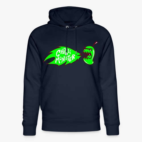 Chilli Monster - Unisex Organic Hoodie by Stanley & Stella