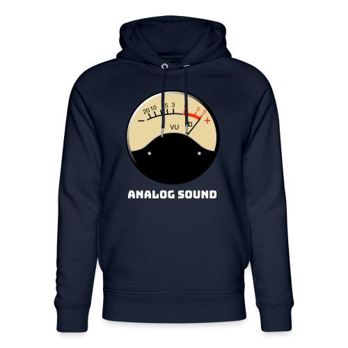 VU Meter analog sound - Unisex Organic Hoodie by Stanley & Stella