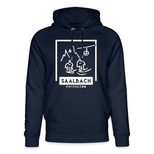 Skido's Saalbach - Uniseks bio-hoodie van Stanley & Stella