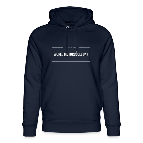 Official World Motorcycle Day 2016 Coffee Mug BLK - Unisex Organic Hoodie by Stanley & Stella