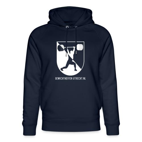 Gewichtheffen Utrecht Logo Trui - Uniseks bio-hoodie van Stanley & Stella