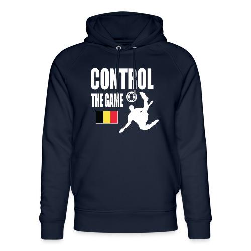 Control The Game Belgium - Uniseks bio-hoodie van Stanley & Stella