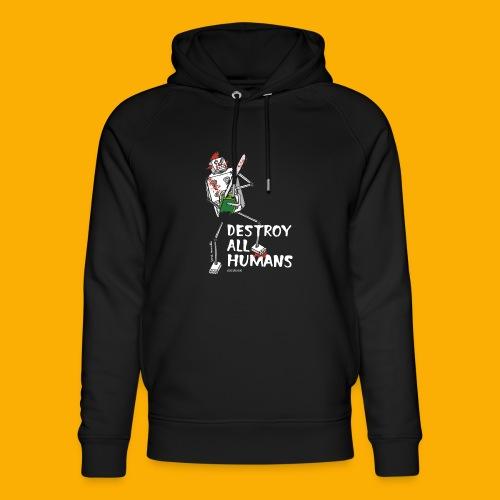 Dat Robot: Destroy Series Killer Clown Dark - Uniseks bio-hoodie van Stanley & Stella