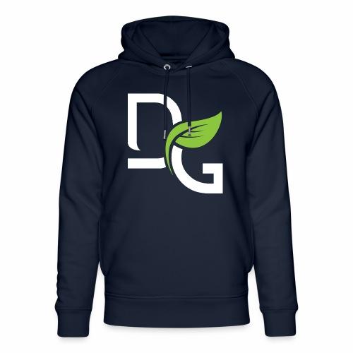 DrGreen Logo Symbol weiss grün - Unisex Bio-Hoodie von Stanley & Stella