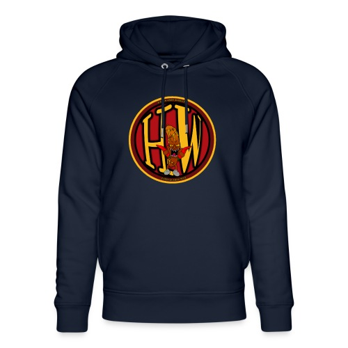 superhw stikker incl worst png - Unisex Organic Hoodie by Stanley & Stella
