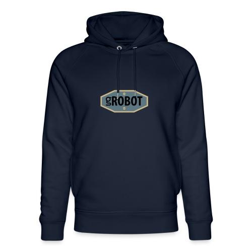 gRobot Logo - Felpa con cappuccio ecologica unisex di Stanley & Stella