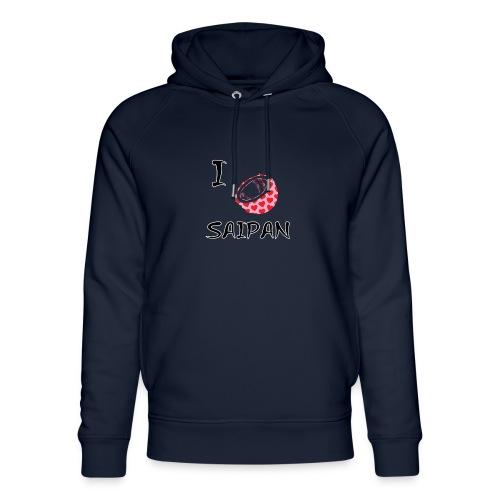 I Love Saipan - Unisex Organic Hoodie by Stanley & Stella
