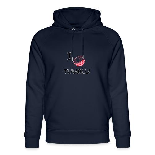 I Love Tuvalu - Unisex Organic Hoodie by Stanley & Stella