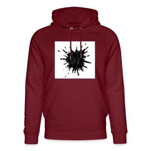Blacktuber Splash Logo - Uniseks bio-hoodie van Stanley & Stella