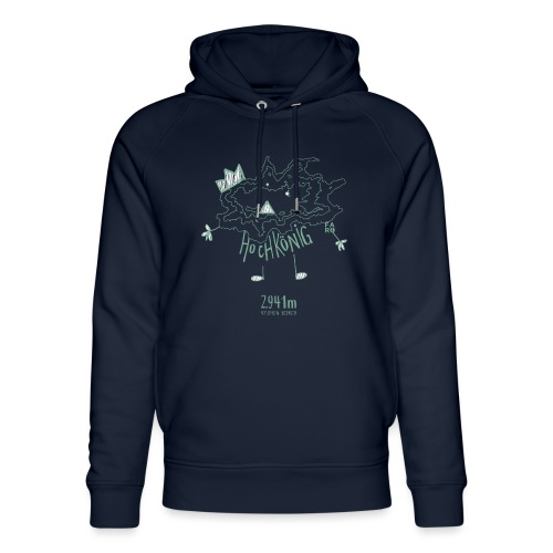 The Hochkoenig Monster - Unisex Organic Hoodie by Stanley & Stella