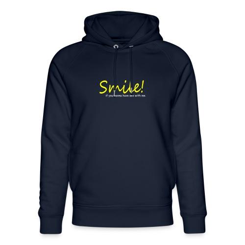 Smile for Sex - Unisex Bio-Hoodie von Stanley & Stella