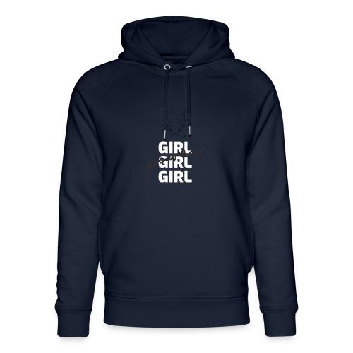 girl power t shirt design - Sudadera con capucha ecológica unisex de Stanley & Stella