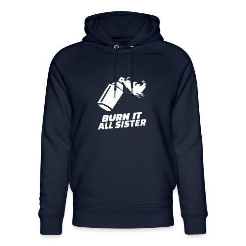 feminist themed t shirt design maker featuring - Sudadera con capucha ecológica unisex de Stanley & Stella