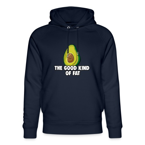 Avocado: The Good Kind of Fat - Unisex Organic Hoodie by Stanley & Stella