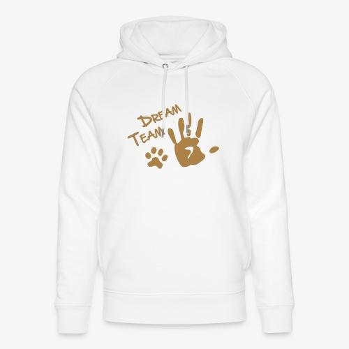Dream Team Hand Hundpfote - Unisex Bio-Hoodie von Stanley & Stella