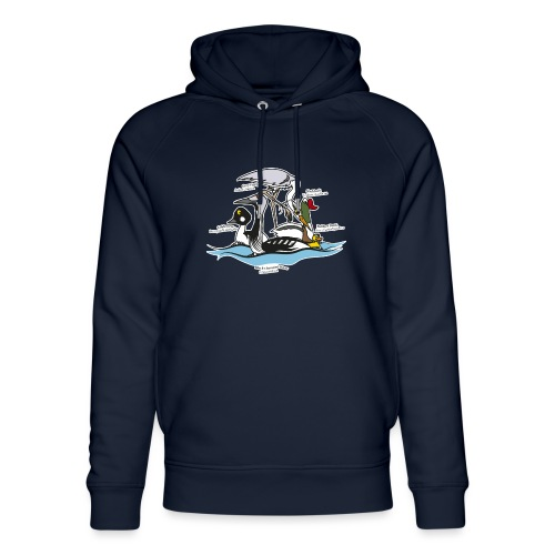 Birds of a Feather - Unisex Organic Hoodie by Stanley & Stella