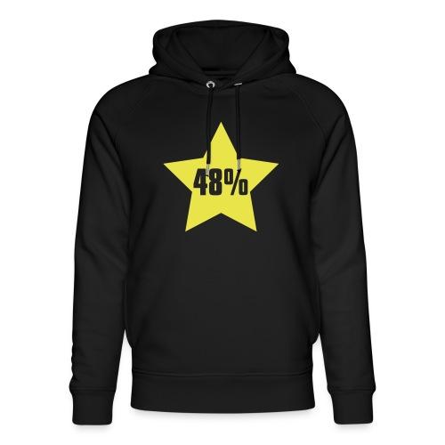 48% in Star - Unisex Organic Hoodie by Stanley & Stella