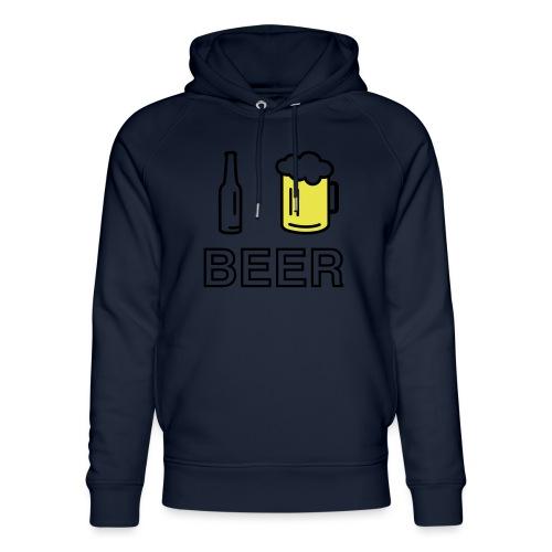 I Love Beer (2-farbig) - Unisex Bio-Hoodie von Stanley & Stella