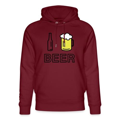 I Love Beer (3-farbig) - Unisex Bio-Hoodie von Stanley & Stella