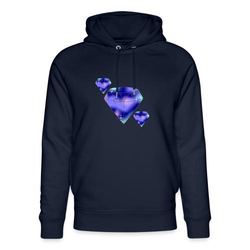 Diamonds - Stanley & Stella unisex hoodie af økologisk bomuld