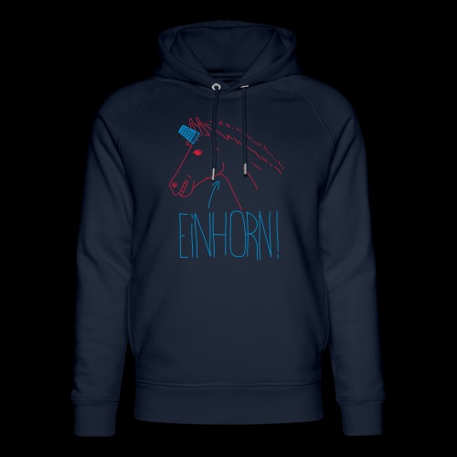 Einhorn - Unisex Bio-Hoodie von Stanley & Stella