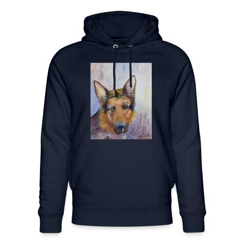 german shepherd wc - Stanley & Stella unisex hoodie af økologisk bomuld