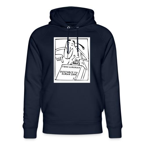 firma kurierska przod - Ekologiczna bluza z kapturem typu unisex Stanley & Stella