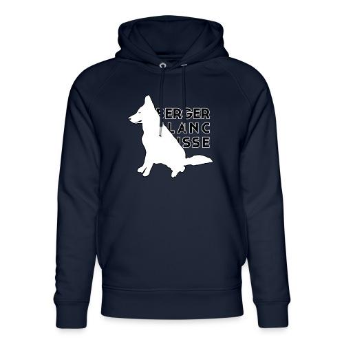 White Dog - Berger Black Suisse - Ekologiczna bluza z kapturem typu unisex Stanley & Stella