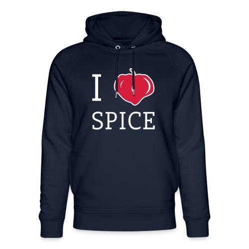 i_love_spice-eps - Stanley & Stellan unisex-luomuhuppari