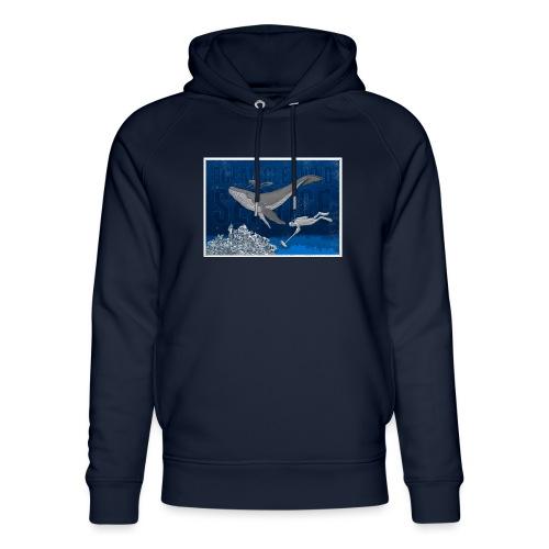 Ocean cleaning service. bluecontest - Stanley & Stella unisex hoodie af økologisk bomuld